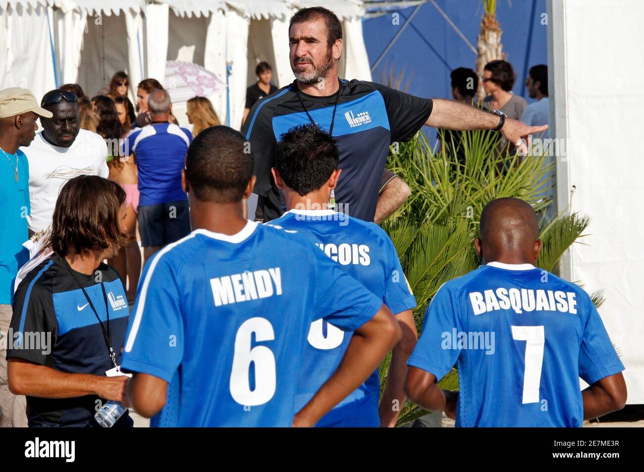Cantona had grown up as a marseille fan. Eric Cantona Marseille High Resolution Stock Photography And Images Alamy