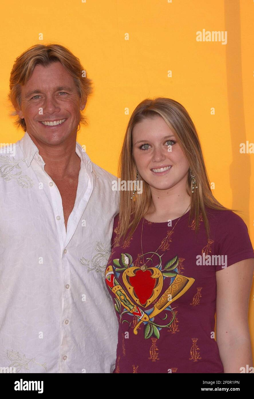 Discover short videos related to brittney bomann on tiktok. Christopher Atkins And Daughter Brittney Bomann Bogart Backstage 2006 Children S Choice Awards Held At The Hollywood
