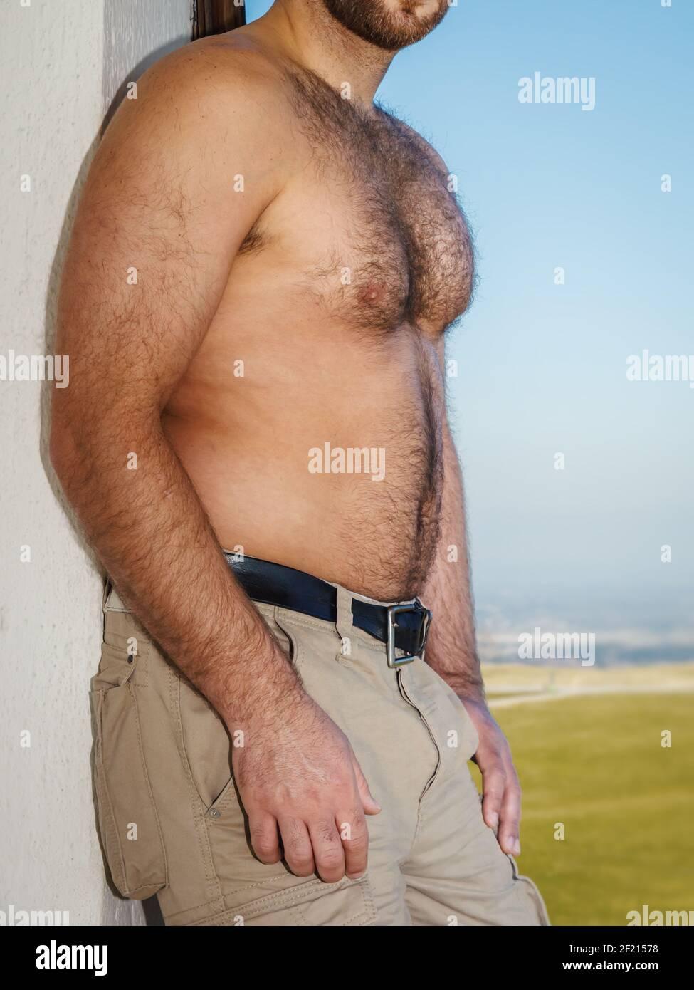 photo Hairy Muscle Guys https www alamy com very hairy male body image414304220 html
