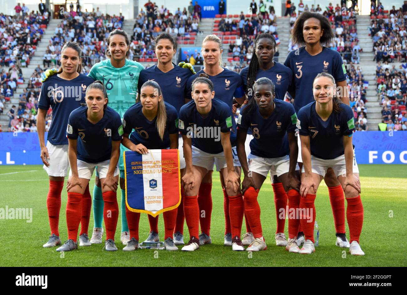 After years of working just as hard but for less, england's female team are getting paid equally. Fifa Womens World Cup France 2019 High Resolution Stock Photography And Images Alamy