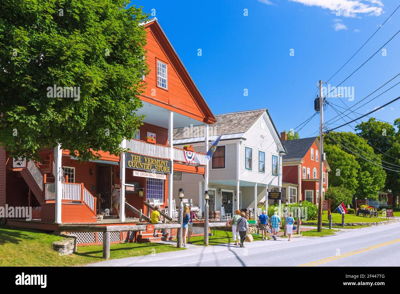 https www alamy com geography travel usa vermont weston vermont the vermont country net curtain additional rights clearance info not available image415601440 html