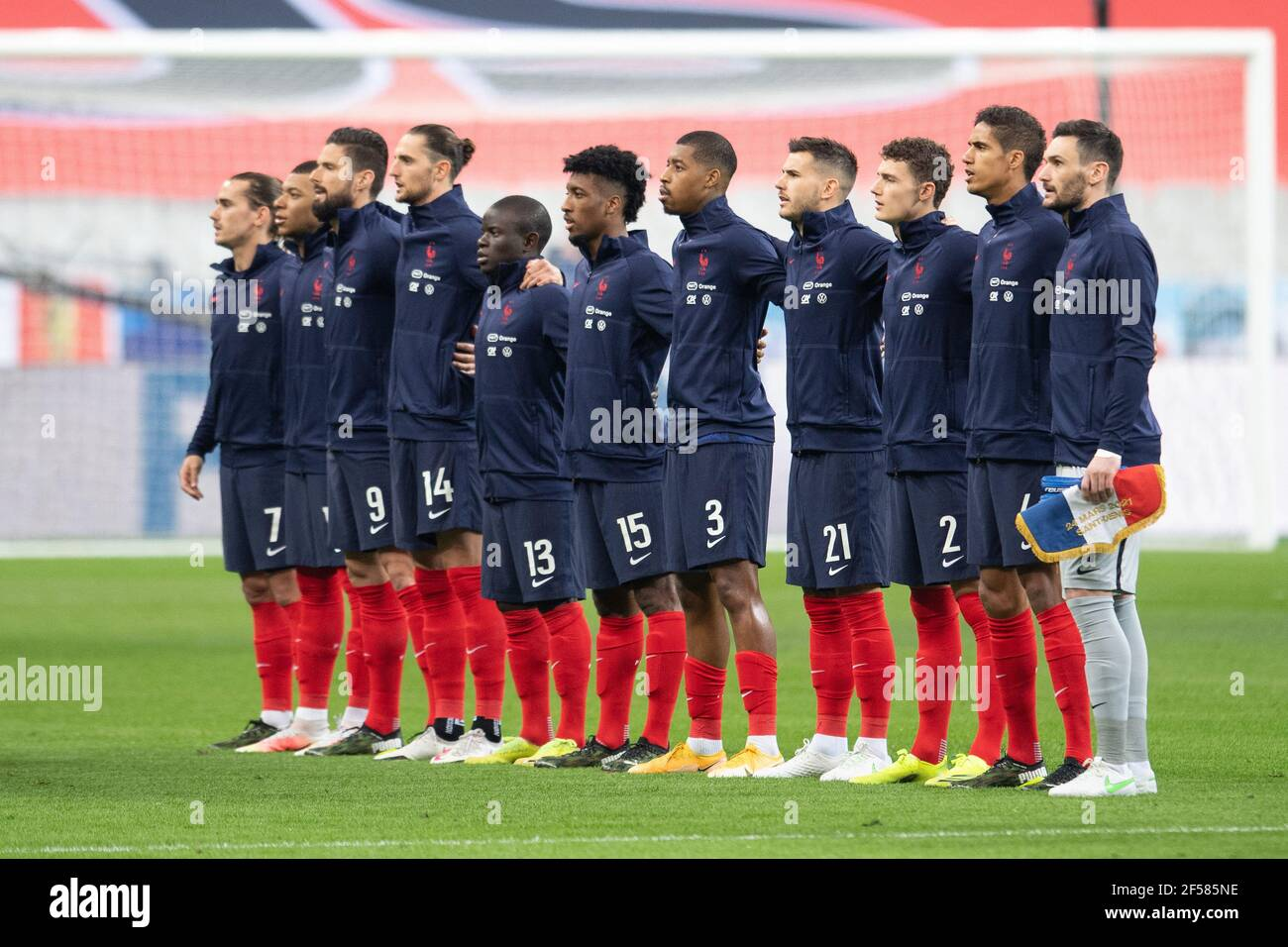 France national team fixture,lineup,tactics,formations,score and results. Team Of France Line Up L R Antoine Griezmann Of France Kylian Mbappe Of France Olivier Giroud Of France Adrien Rabiot Of France Ngolo Kante Of France Kingsley Coman Of France Presnel