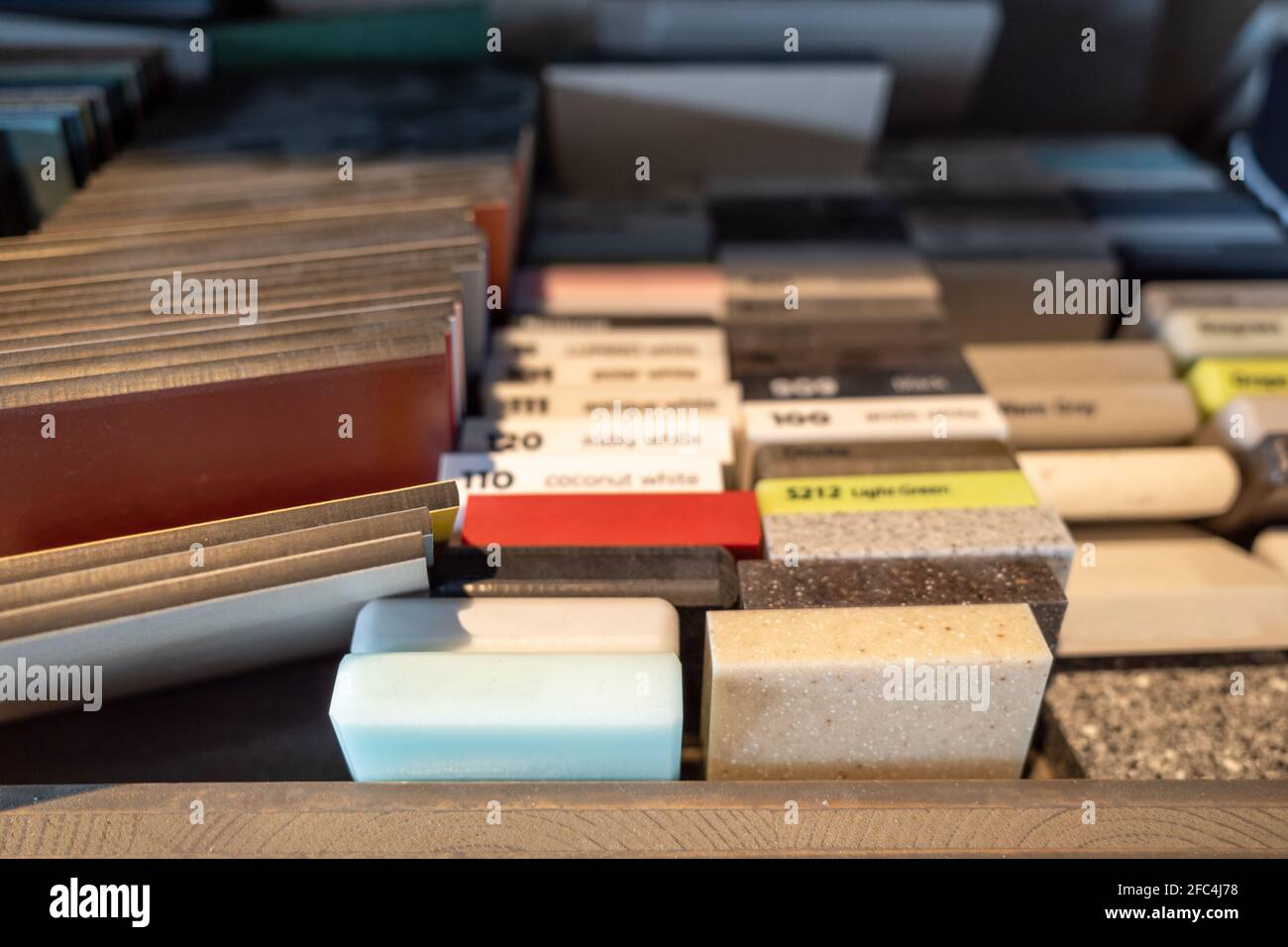 https www alamy com selective focus view stack group and heap of stone granite marble tile samples example of building materials image420526828 html