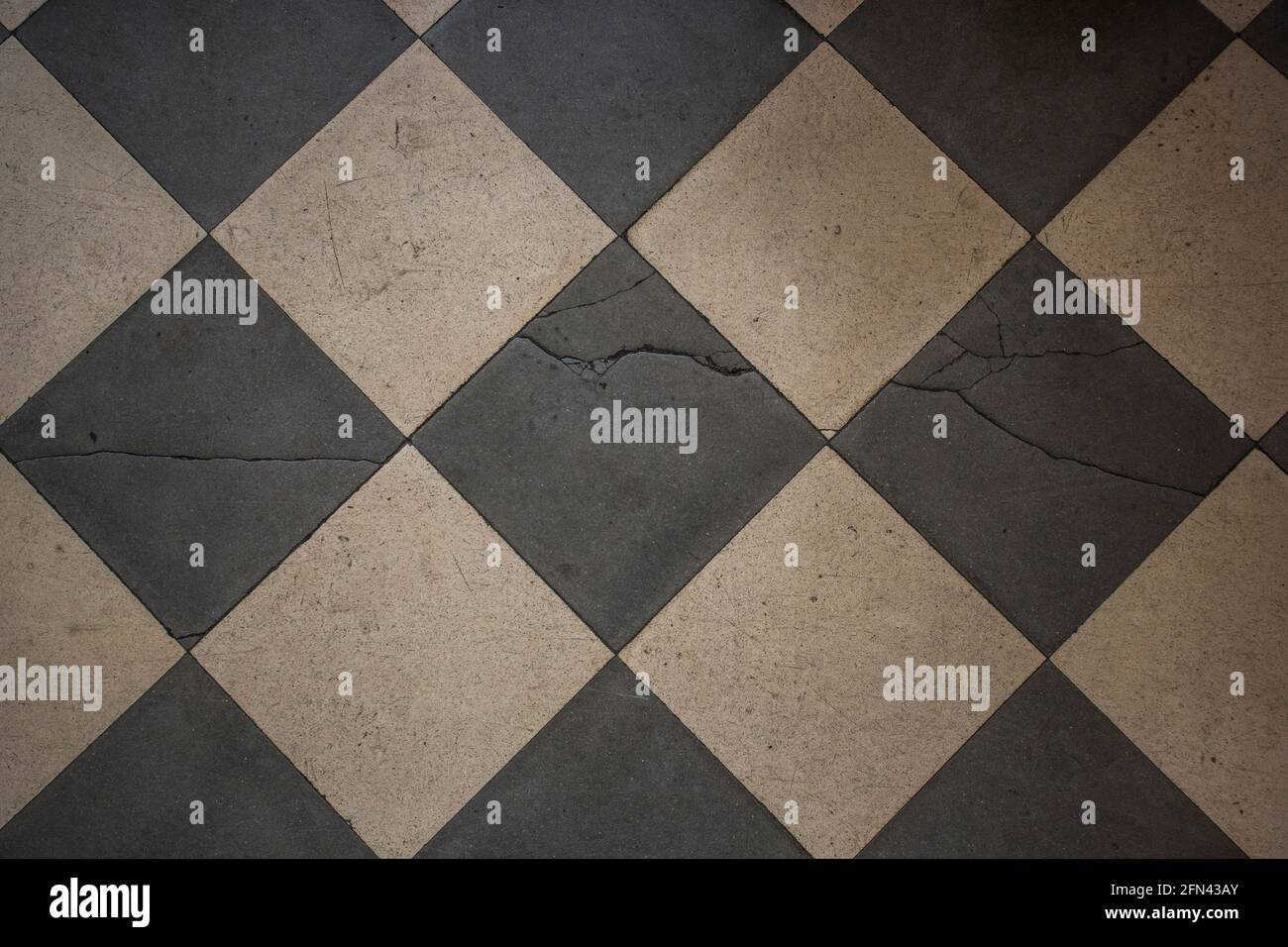 https www alamy com vintage earthenware floor tiles from 20s in black and white abstract backdrop image426047075 html