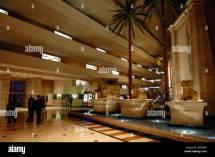 Luxor Hotel And Casino Interior Stock &