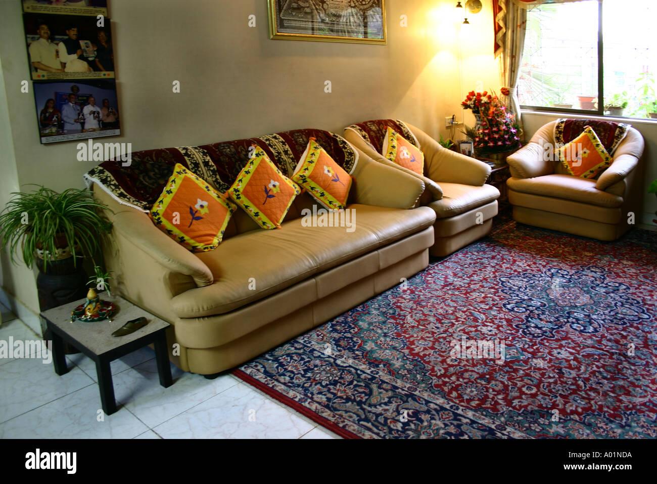 star sofa mumbai maharashtra leather sectional london ontario interior house bombay stock photos