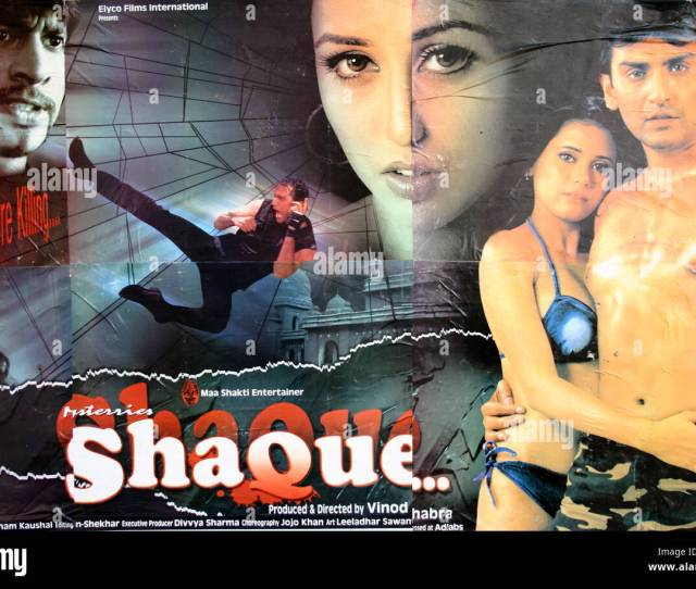 Poster Of Bollywood Hindi Adult Film Cinema Shaque Doubt India