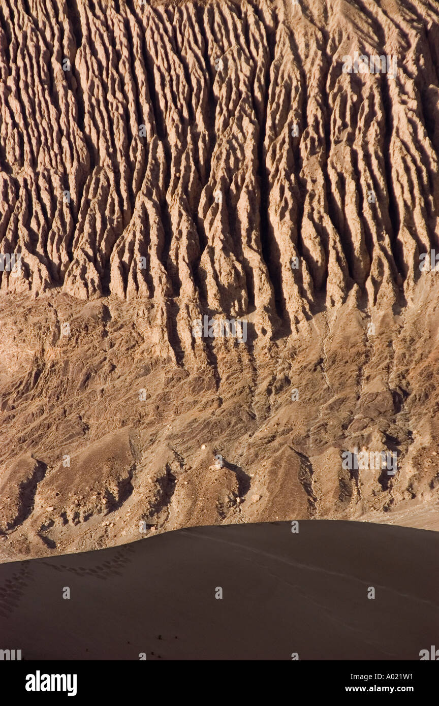 erosion on brown rocky