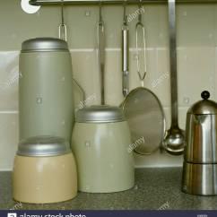 Kitchen Utensils Store Resurface Countertops Stock Photos And