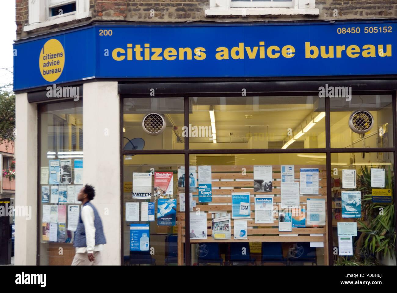 citizens advice bureau in kilburn london england uk
