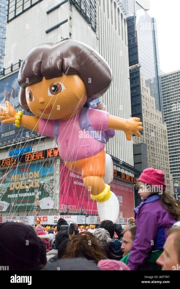 Dora Explorer Balloon 2005 Macy' Thanksgiving