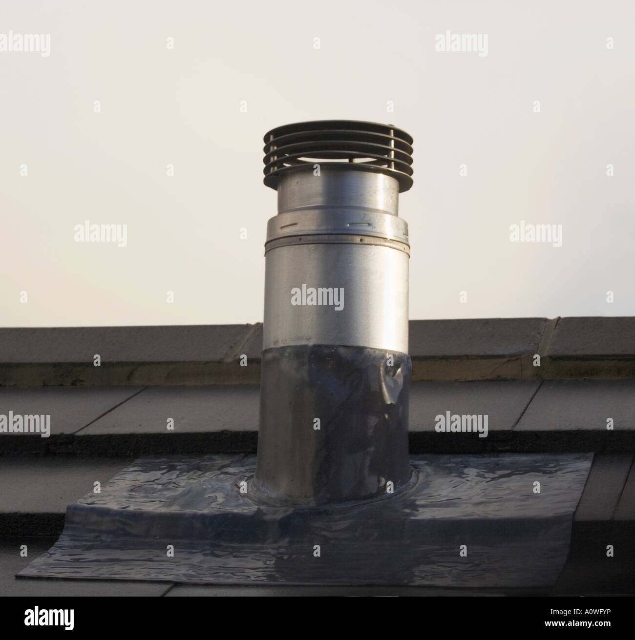 Roof Flue & The Flue Pipe Is Only 2.5