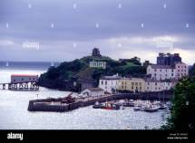 Tenby Harbour In North Wales Stock Royalty Free