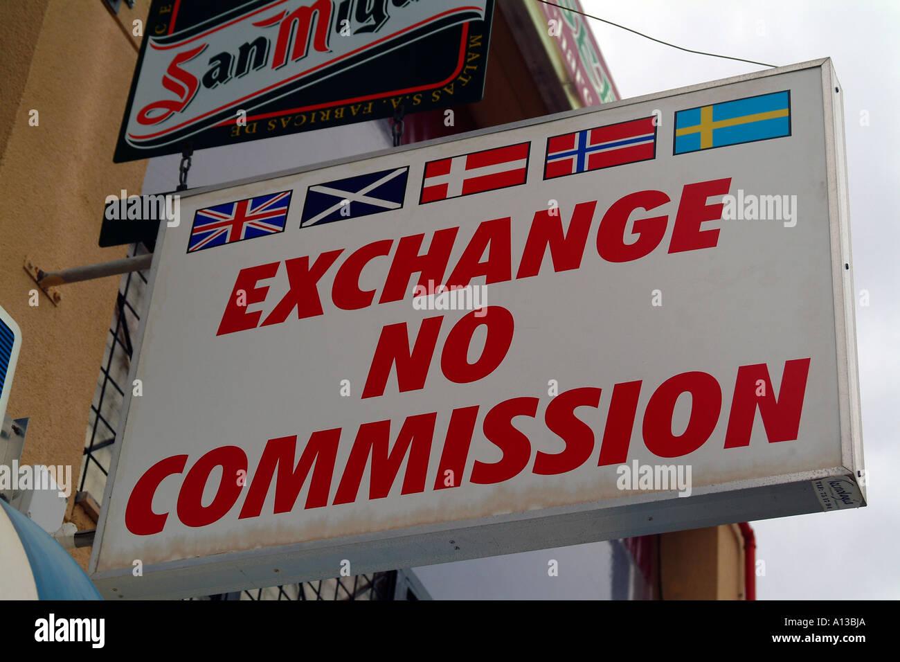 exchange no commission bureau de change