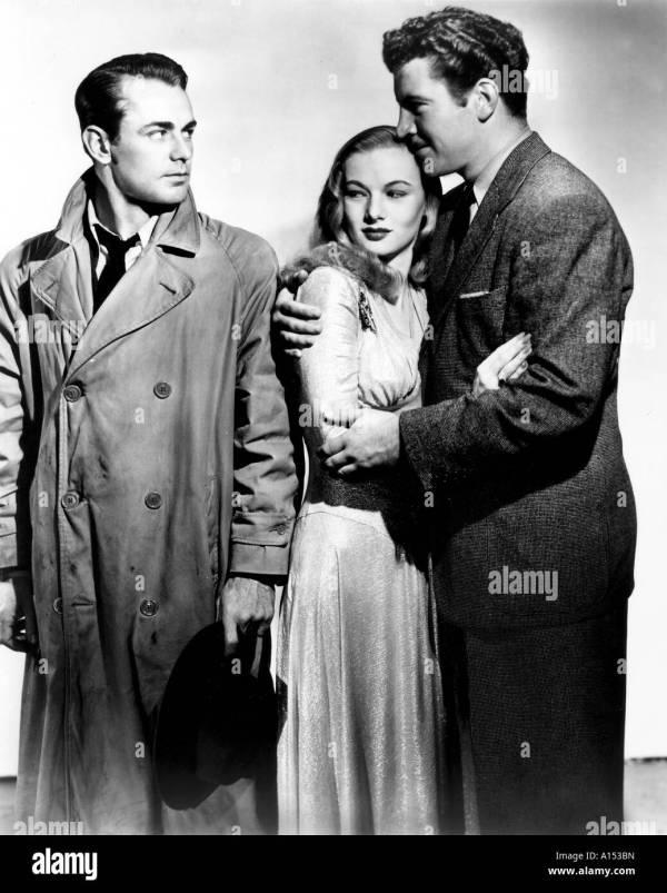 Gun Hire Year 1942 Director Frank Tuttle Veronica Lake Alan Stock 10146104 - Alamy