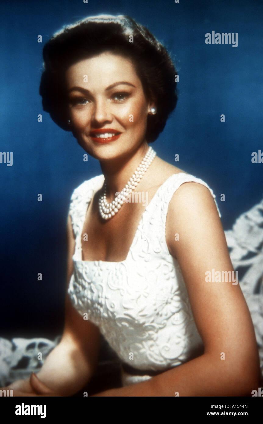 La Veuve Noire Film 1954 : veuve, noire, Black, Widow, Director, Nunnally, Johnson, Tierney, Stock, Photo, Alamy