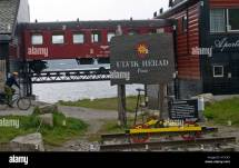 Finse Railway Station Norway Stock &