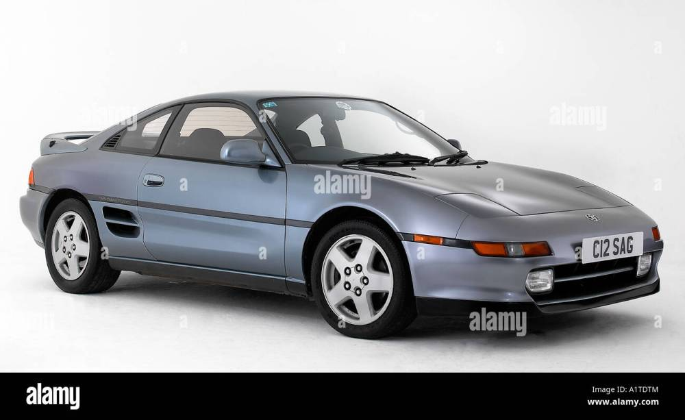 medium resolution of 1992 toyota mr2 stock image