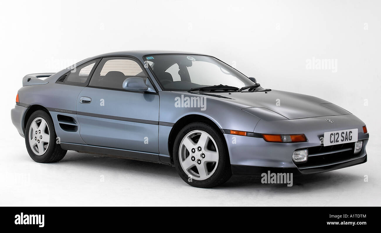 hight resolution of 1992 toyota mr2 stock image
