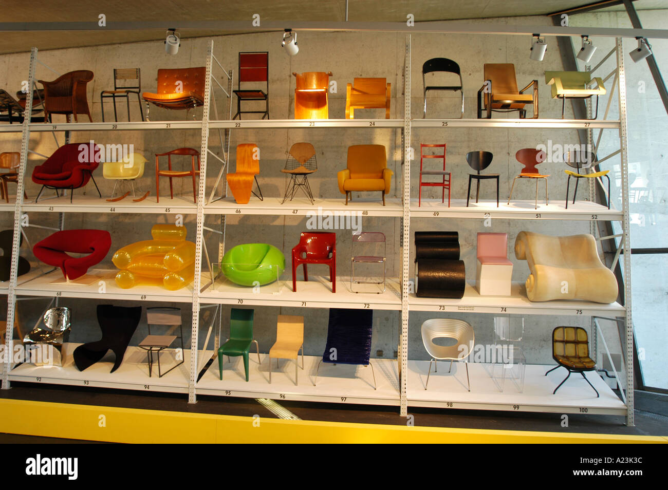 chair design museum canadian tire patio seat cushions designer collection vitra weil am