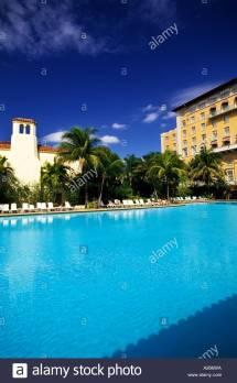 Biltmore Coral Gables Florida Stock &