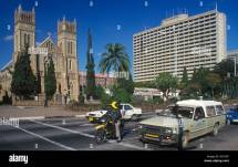 Cathedral And Highrise Building In Harare Capital
