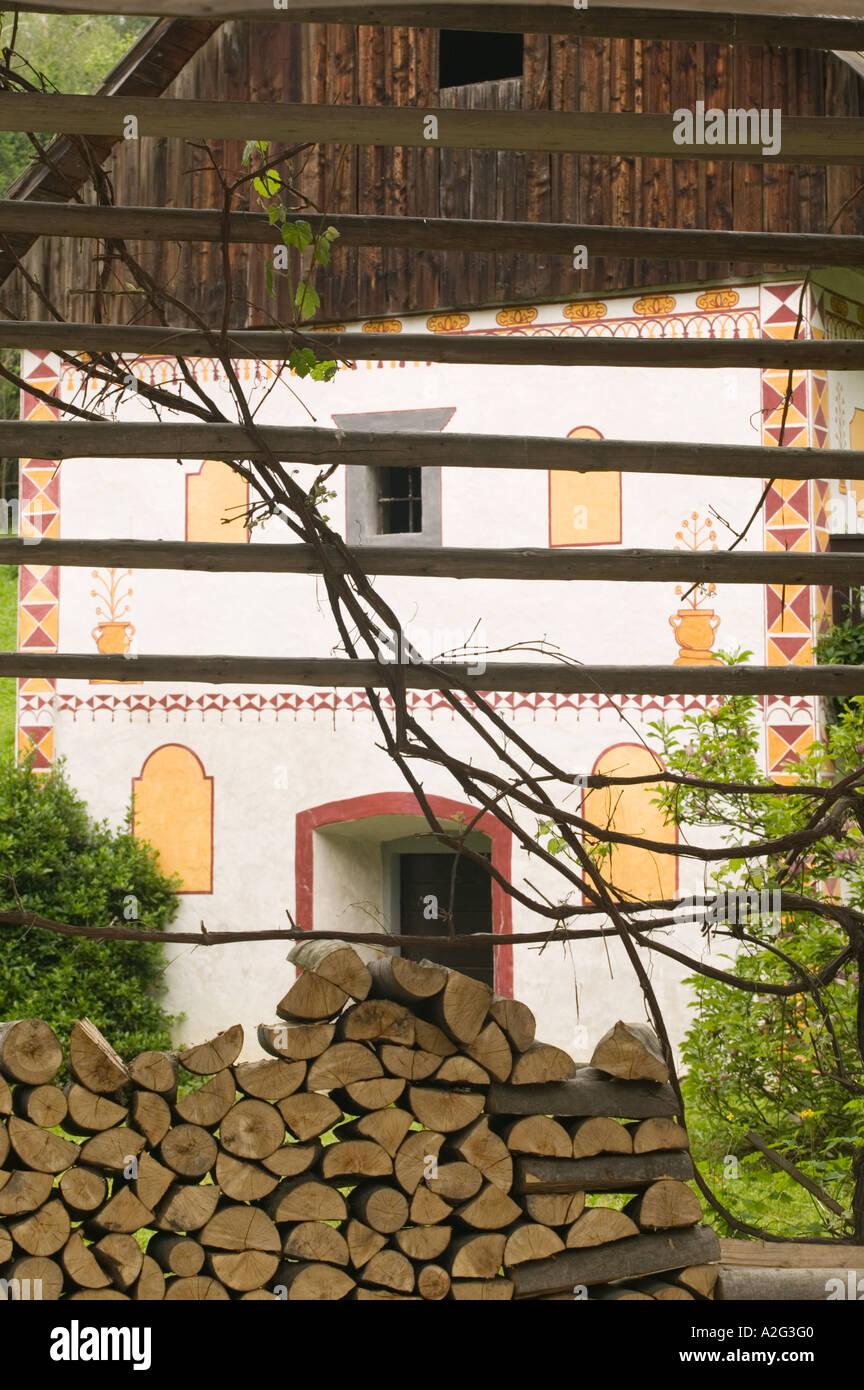 Slovenia Primorska Spodnja Idrija Grounds Of 14th Century