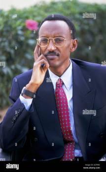 Paul Kagame Stock & - Alamy