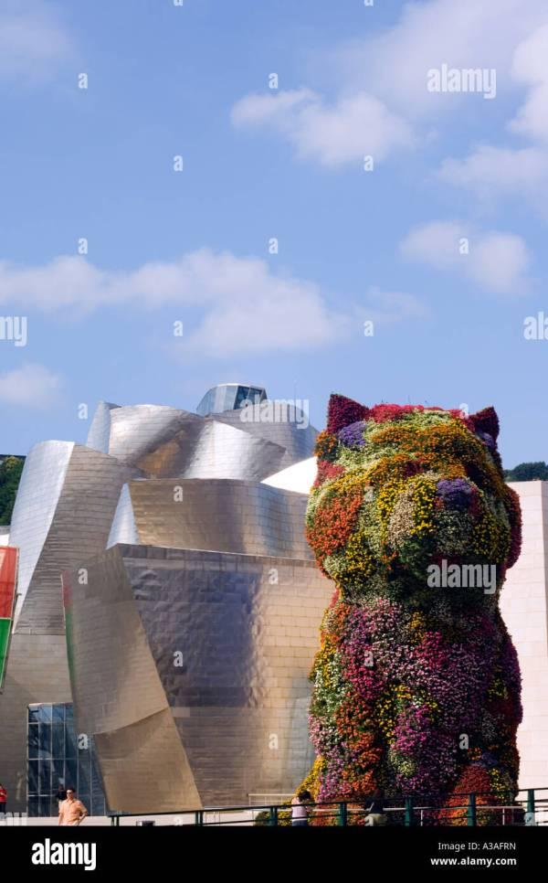 Spain Basque Country Bilbao Guggenheim Modern Art Museum