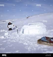 Inuit Igloo Home Stock &
