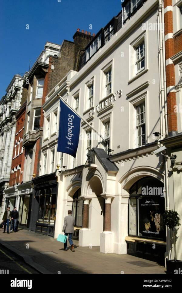 Sothebys London Stock &