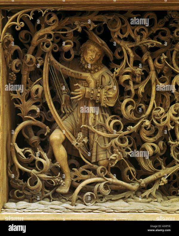Fine Art Wood Carving Religious