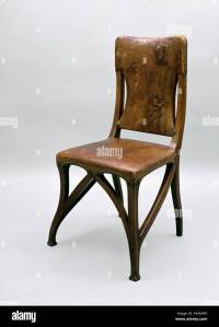 fine arts, Art Nouveau, furniture, chair, circa 1900, wood ...