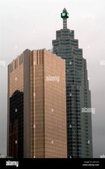 Td Bank Tower Building Downtown Toronto Canada North