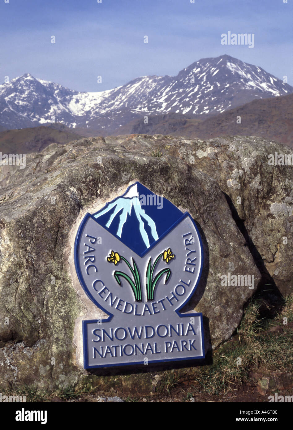 Snowdon Peak : snowdon, Snowdonia, National, Snowdon, Mountain, Range, Beyond, Stock, Photo, Alamy