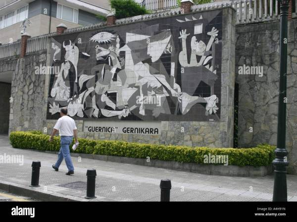 Picasso Guernica Painting Location
