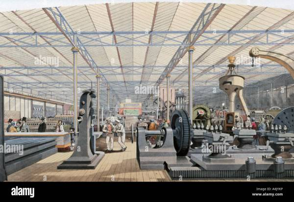 Crystal Palace Exhibition Stock & - Alamy
