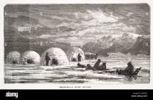 Inuit Eskimo Igloo Inside