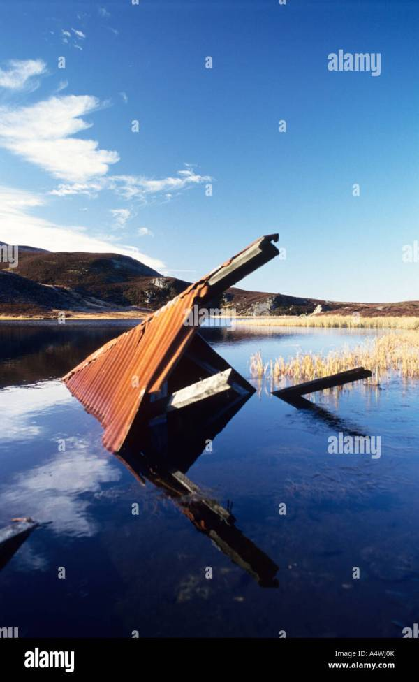 Ruined Bothy Stock Photos & Ruined Bothy Stock Images - Alamy