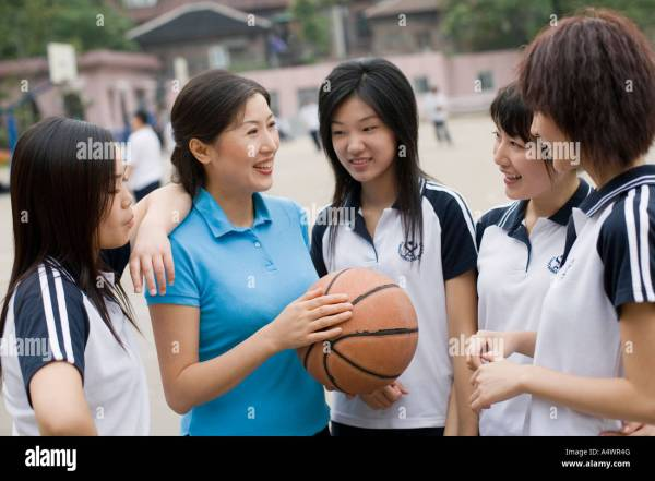 Girl Physical Education Teacher