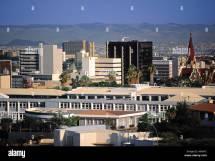 Namibia Windhoek Skyline Stock &