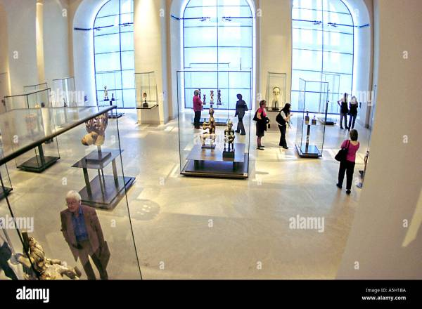 "Paris France Interior ""louvre Museum"" Tourists Visiting ""african Stock Royalty Free"