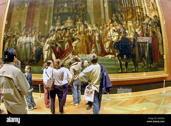 """Paris France """"louvre Museum"""" Tourists """"french"""