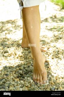 Bare Feet Barefoot Stock &