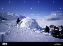People Inuit Igloo Building