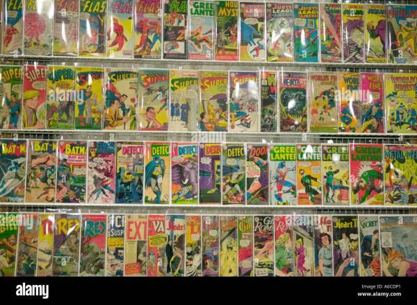 Comics Rack Comic