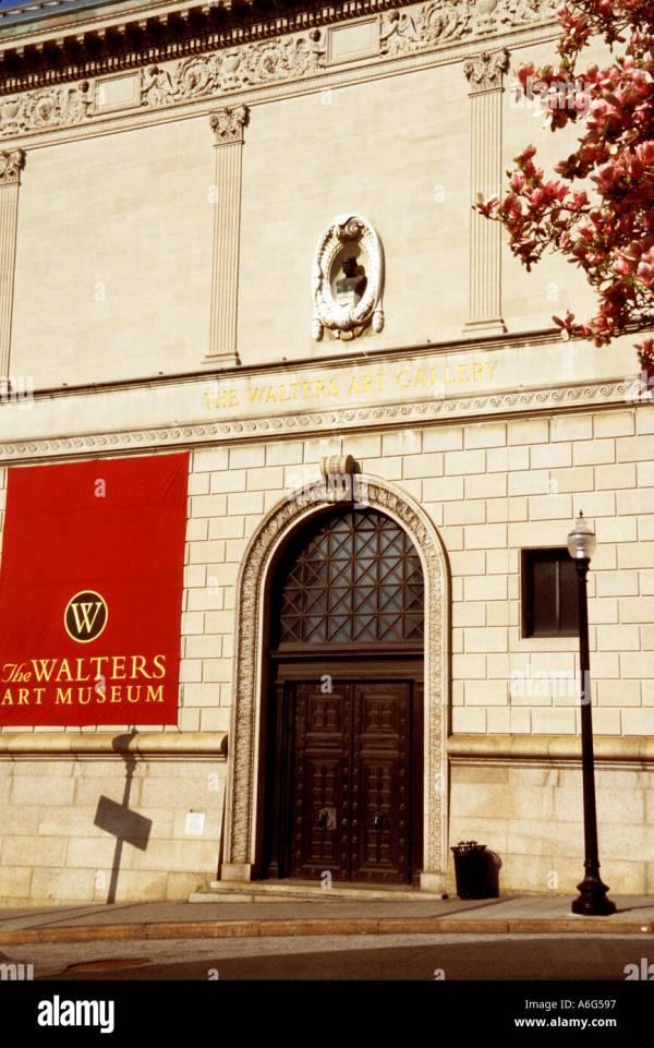 Walter Art Museum Mt. Vernon Baltimore