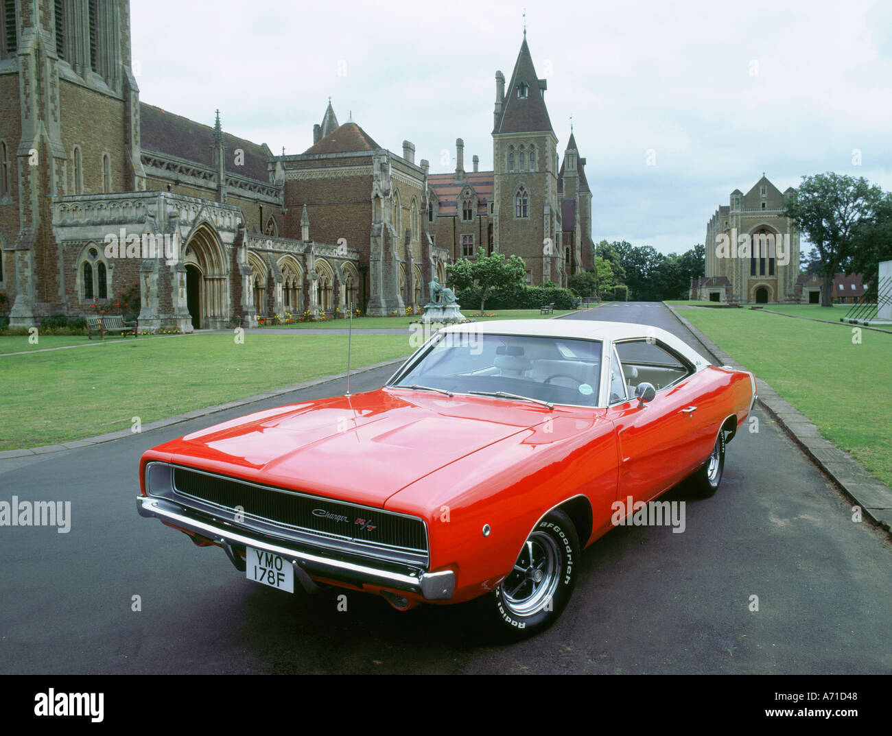 hight resolution of 1968 dodge charger 440 magnum stock image