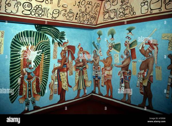 History of Mexico Mural