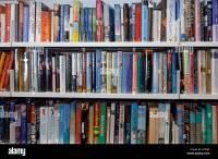 Library Interior Bookshelves Nobody Stock Photos & Library ...